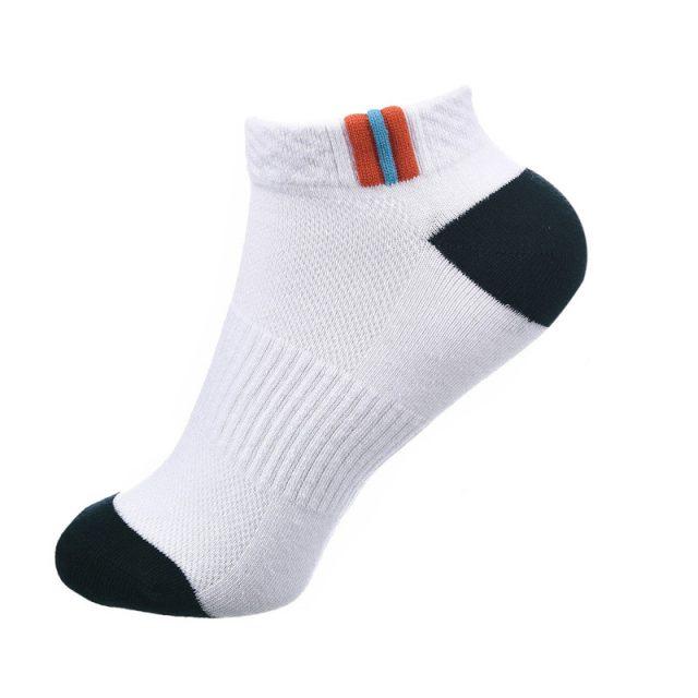 Short Bamboo Textile Men's Socks