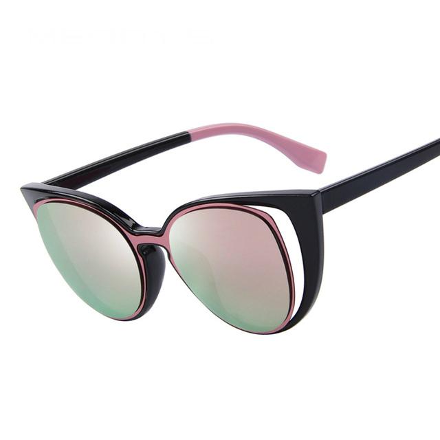 Cute Retro Style Cat Eye Women's Sunglasses