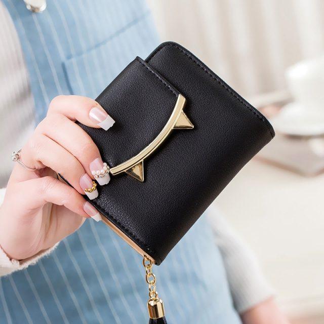 Women's Cute Cat Shaped Mini Wallet