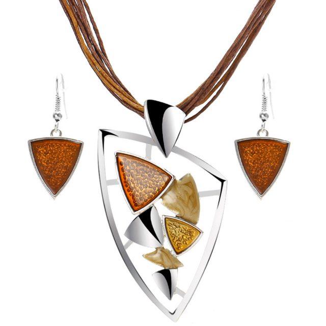 Fashion Geometric Jewelry Sets