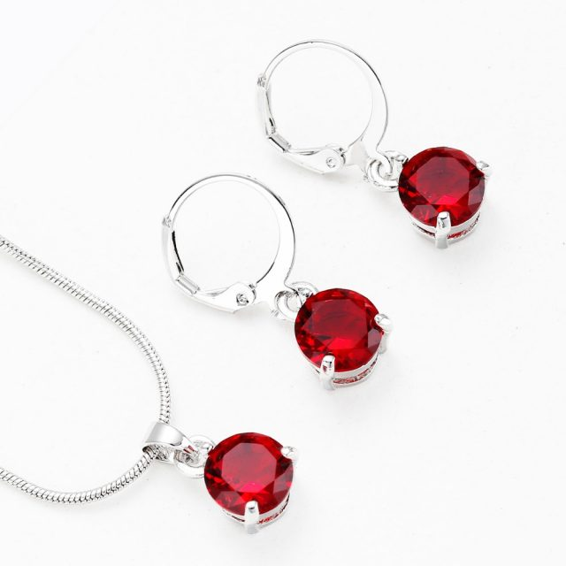 Fashion Cubic Zircon Hypoallergenic Jewelry Sets for Women