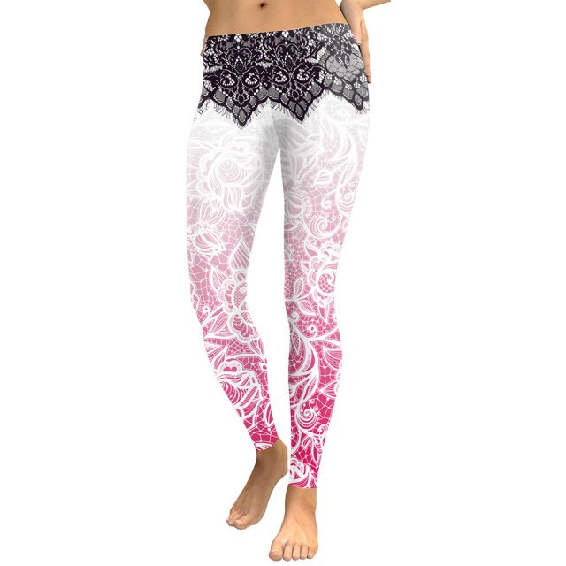 Women's Bohemian Printed Leggings
