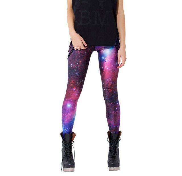 Women's Space Printed Yoga Leggings
